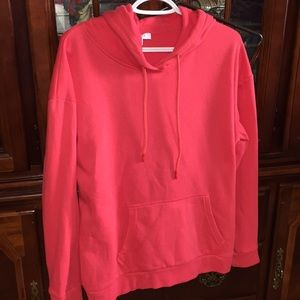 My Style Size Lg red hoodie pullover